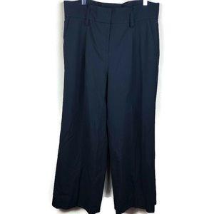 Express Womens Dress Pants, Wide Leg Black Size 12